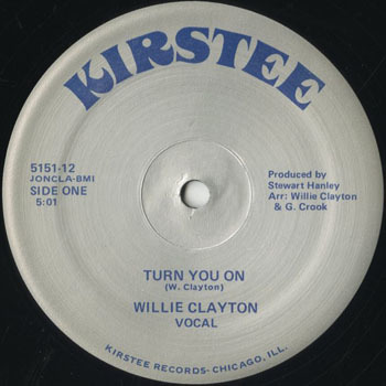 DG_WILLIE CLAYTON_TURN YOU ON_201705