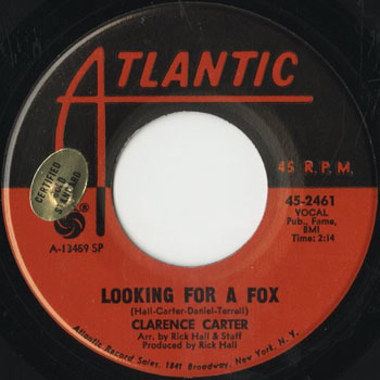 SL_CLARENCE CARTER_LOOKING FOR A FOX_201706