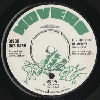 SL_DISCO DUB BAND_FOR THE LOVE OF MONEY_201706