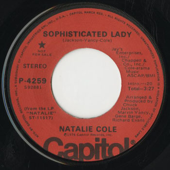 SL_NATALIE COLE_SOPHISCATED LADY_201706