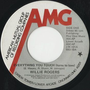 SL_WILLIE ROGERS_EVERYTHING YOU TOUCH_201706