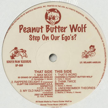 HH_PEANUT BUTTER WOLF_STEP ON OUR EGOS_201707