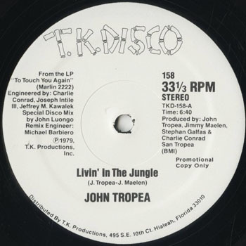DG_JOHN TROPEA_LIVIN IN THE JUNGLE_201707