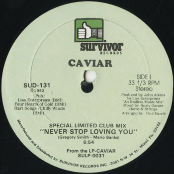 DG_CAVIAR_NEVER STOP LOVING YOU_201710