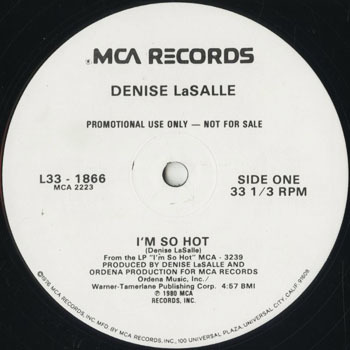 DG_DENISE LASALLE_IM SO HOT_201710