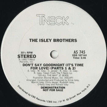 DG_ISLEY BROTHERS_DONT SAY GOODNIGHT_201710