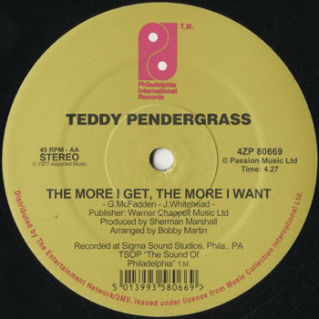 DG_TEDDY PENDERGRASS_THE MORE I GET THE MORE I WANT_201710