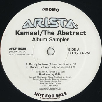 HH_KAMAAL THE ABSTRACT_ALBUM SAMPLER_201801