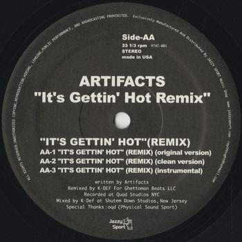 HH_ARTIFACTS_ITS GETTIN HOT REMIX_201801