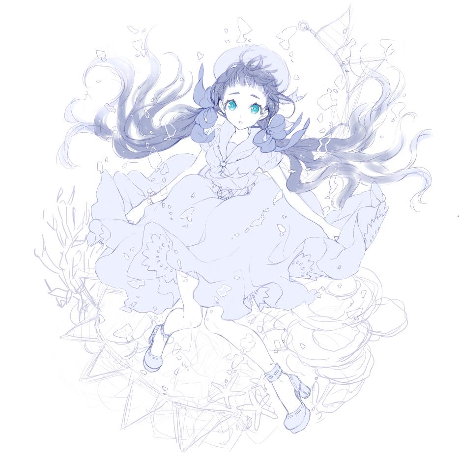 水中の少女2