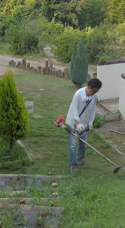 たかし 草刈2