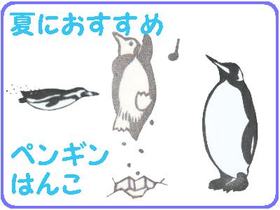 夏におすすめペンギン