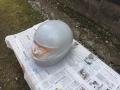 ヘルメット 下地処理 DIY
