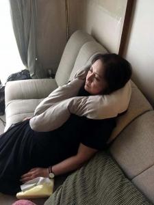 旅する抱き枕