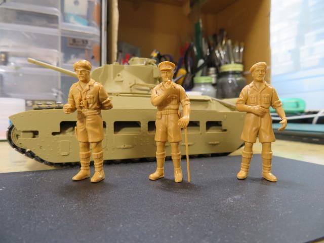 イタレリ イギリス戦車兵 旧 クルセーダー