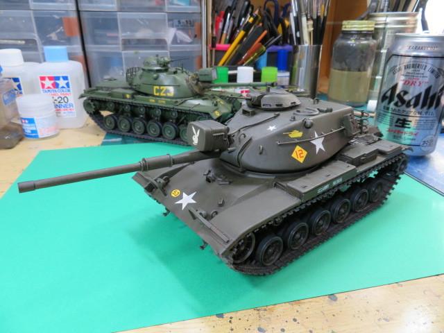 M60A1 タミヤ 35 完成