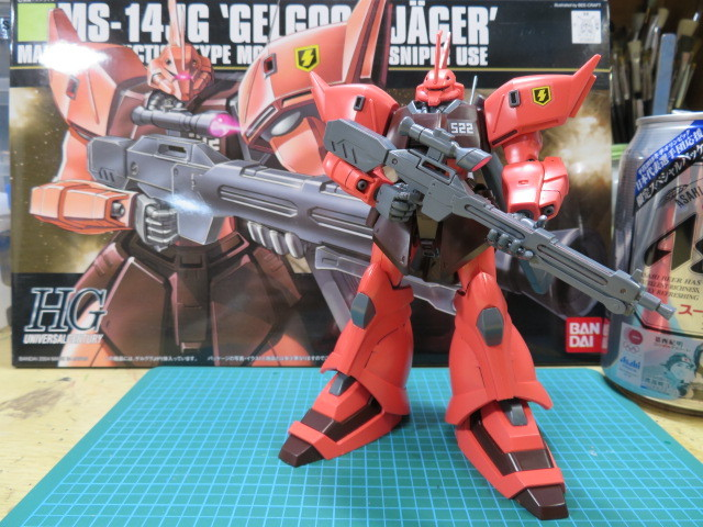 MS-14JG GELGOOG JAGER の1