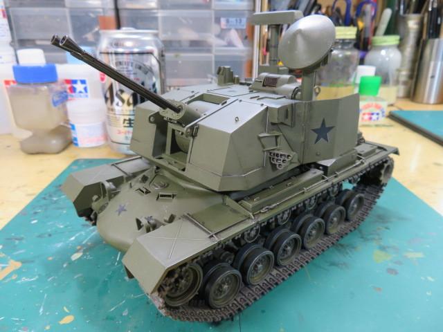 M247 タミヤ 35 完成の1