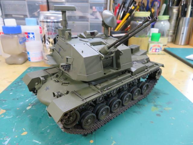 M247 タミヤ 35 完成の2