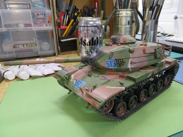 M60A3 タミヤ 35 完成