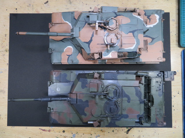 M1A1 タミヤ 35 完成 の2