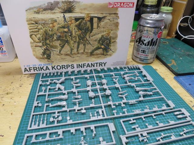 AFRIKA KORPS INFANTRY ドラゴン 35 の1