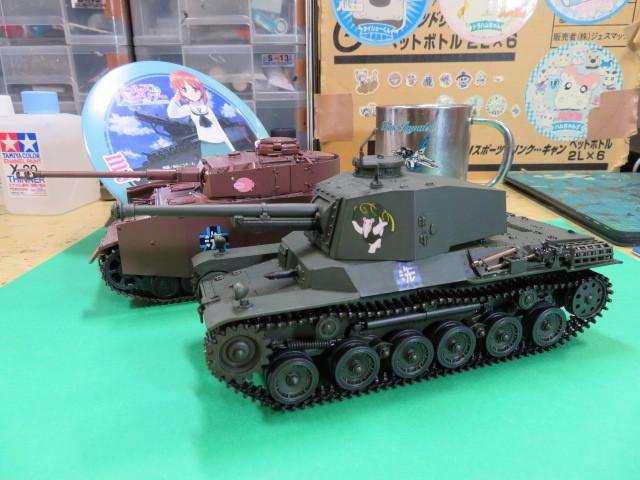 ガルパン 三式中戦車 ファインモールド 35