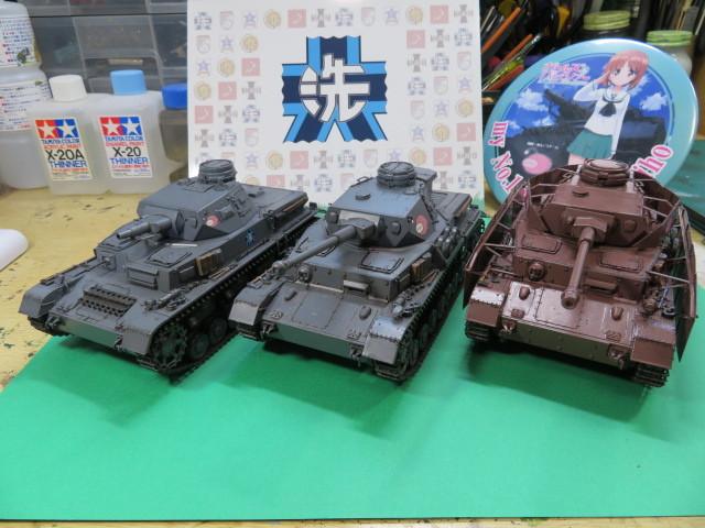 ガルパン Ⅳ号戦車D型改F2型仕様 プラッツ 完成・・・