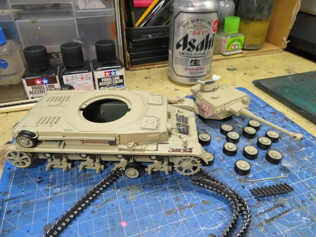 DAK Ⅳ号F2型 イタレリ 整備の1