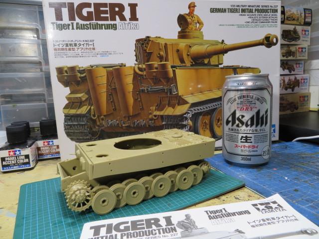タミヤ タイガーⅠ アフリカ仕様 の1