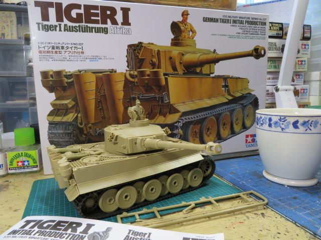 タミヤ タイガーⅠ アフリカ仕様 の2