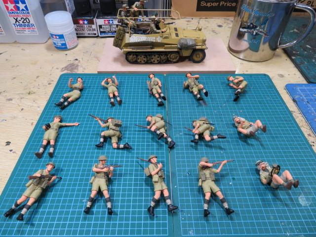 タミヤ 35 イギリス兵