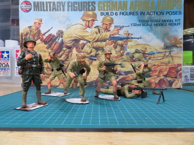 エアフィックス ドイツアフリカ軍団 の2