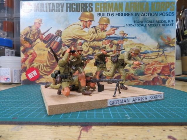 エアフィックス ドイツアフリカ軍団 の3