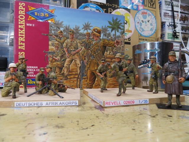 レベル アフリカ軍団 の3