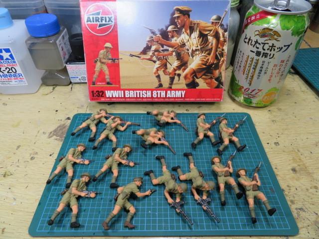 エアフィックス イギリス 第8軍 の2