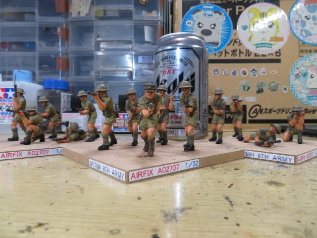 エアフィックス イギリス 第8軍 の3
