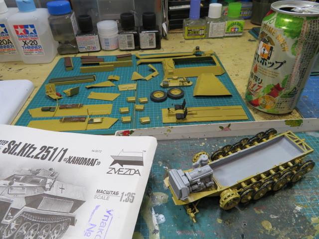 ズベズダ 35 SD.KFZ.251 B型 の2