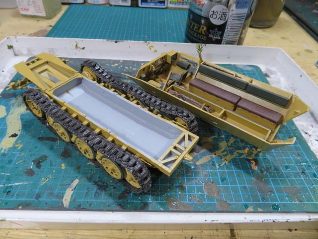 ズベズダ 35 SD.KFZ.251 B型 の3