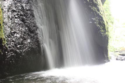 シワガラの滝4