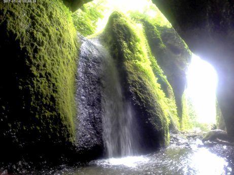 シワガラの滝6