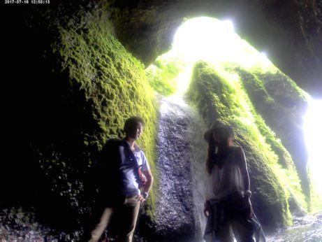 シワガラの滝8
