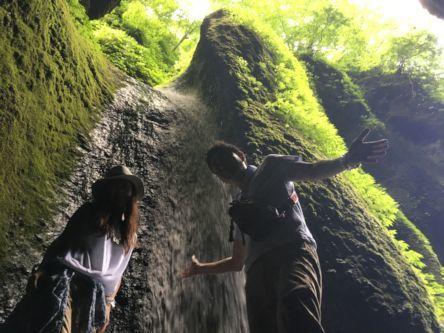 シワガラの滝9