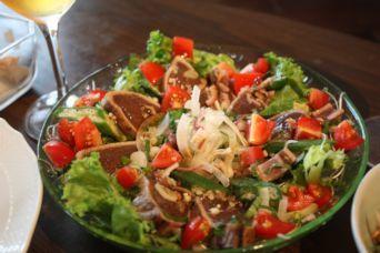 カツオのたたき薬味サラダ2017夏