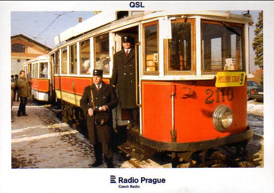 2017年5月17日  インターネット放送受信 ラジオ・プラハ(チェコ共和国)のQSLカード(受信確認証)