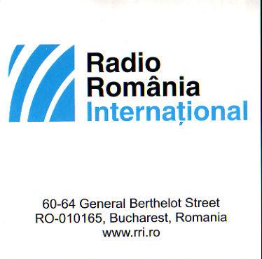 2017年7月20日  ロシア語放送受信 Radio Romania International(ルーマニア)