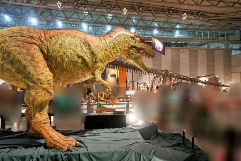 ギガ恐竜展ティラノサウルス