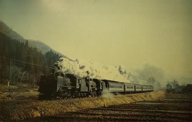 かつてのSL 飯山線を臨時で走ったお座敷列車の写真
