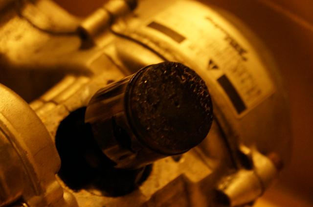 カーボンビッチリ、BE30 小松 ゼノア フキプランニング モペットエンジン