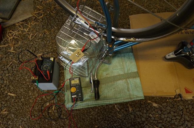 倍電圧整流回路で水力発電の充電器を造る